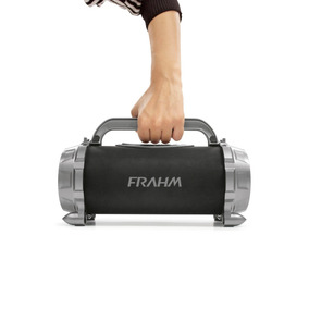 Caixa Acústica Portátil Bazooka Bk 640 Bt Fm Sdcard - Frahm