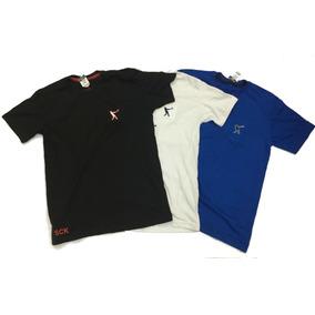 7421966f31 Kit Com 03 Camisetas Masculinas Baratas 100% Algodão Revenda