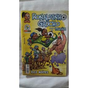 Ronaldinho Gaúcho 2 Gibis - Frete Carta 8,00