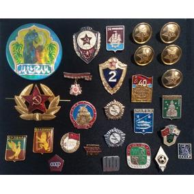 Grande Lote Emblemas, Insígnias Da Extinta União Soviética