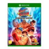 Street Fighter Anniversary Collection Xbox One Mídia Física