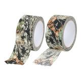 Fita Adesiva 10m Tecido Camuflada Gamo Duct Tape Impermeavel