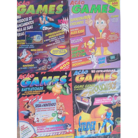 Revistas Ação Games Nº 3 E 4 ( 2 Revistas )