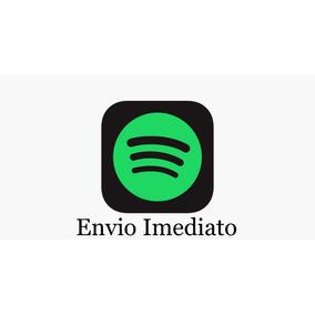 Cartão Pré-pago Conta Spotify Envio Imediato