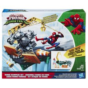 Brinquedo Cenário Homem Aranha Wc Rhino - Hasbro Brinquedos