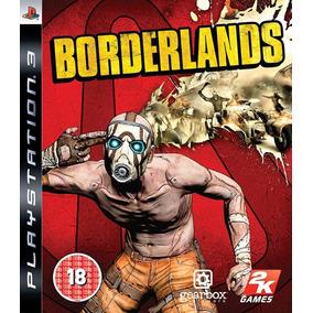 Game Ps3 Borderlands Midia Fisica Usado