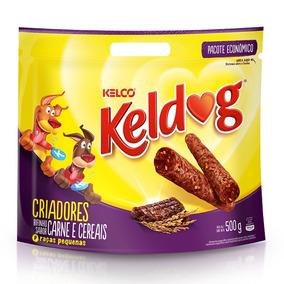 Bifinho Keldog Cães Adultos E Filhotes Carnes E Cereais - 50