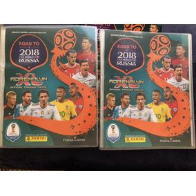 Coleção Completa Com 540 Cards Road To Russia 2018 Xl