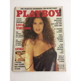 Revista Playboy Lúcia Veríssimo N 153, Abril/88, Rara