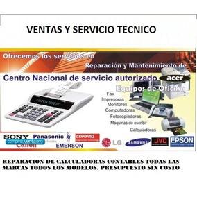 Calculadoras Contables Reparacion Venta Servicio