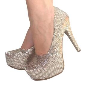 68faacb1e Salto Alto Noiva Glitter Dumond - Sapatos no Mercado Livre Brasil