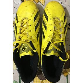 079ffdba04803 Chuteira De Campo adidas F5 Trx Fg Amarela