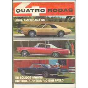 *sll* Antiga Revista Quatro Rodas N. 63 - Abril - Ano.1965