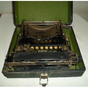 Antigua Máquina Escribir Corona Chica