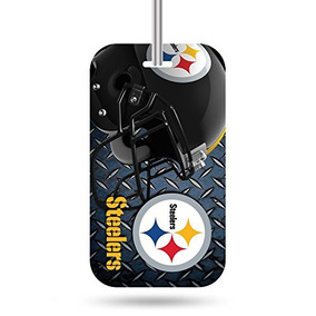 Etiqueta De Equipaje Nfl Pittsburgh Steelers Crystal View Te 0bfb13b7235be