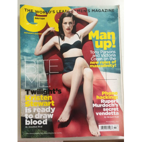 Revista Gq Kristen Stewart *importada*
