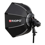 Difusor Triopo Hexa Softbox 55cm Plegado Rapido P/ Flash