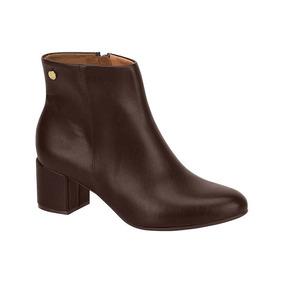 5c1e62a08e Ankle Boots Salto Grosso Feminino Vizzano - Sapatos no Mercado Livre ...
