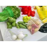 Bolsas Reutilizables Ecológicas Frutas Y Verduras 10 Pzas