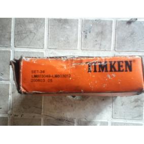 Rodamiento Timken Set 36 Lm 603049 Lm 603012