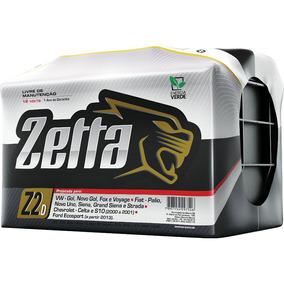 Bateria De Carro Zetta Polo Positivo Direito Z60d