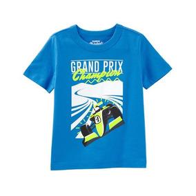 Playera Grand Prix Osh Kosh Talla 5 Nueva