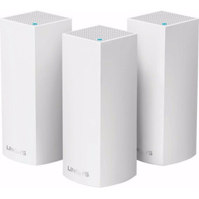 Linksys - Velop Tri-band Whole Home Wi-fi System (3-pack)