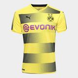 Camisa Borussia Dortmund 17/18 S/n° Torcedor Puma Masculina