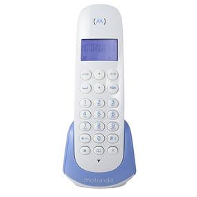 Telefone Motorola Moto700b Sem Fio Digital Id. Chamadas Azul