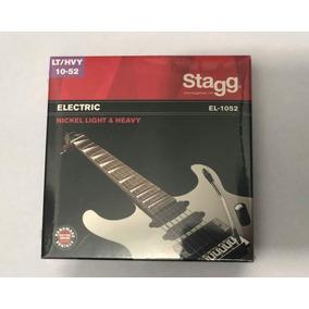 Cuerdas De Guitarra Electrica Marca Stagg Lt/hvy 10-52