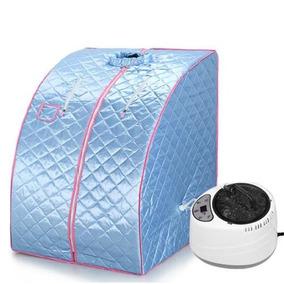 Blue - Casa Portable Vapor Sauna Spa Tienda Calentador -0950