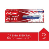 Colgate Luminous White Instant Crema 51 Ml Tubo
