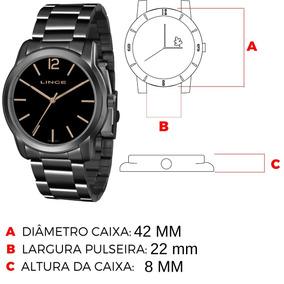 e4052373327 Relógio Fem Trançado Grafite E Classico Lince - Relógios De Pulso no ...