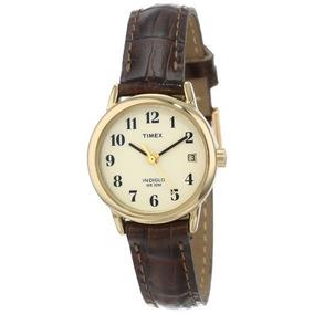 3b613b42fce9 Reloj Timex Correa De Cuero en Mercado Libre México