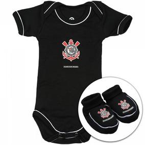 Kit Corinthians Infantil Bebe Completo Torcida Baby - Calçados ... 9020a6fe220b8