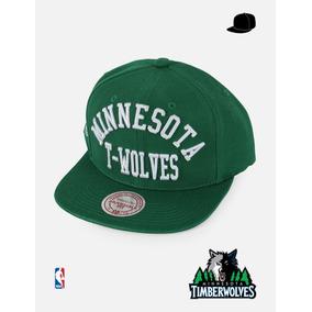 f81ea76e6596f Gorra Nba Minnesota Timberwolves Azul - Mitchell   Ness Sc