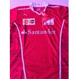 Camisa Masculina Gola Pólo Dry Fit Santander Ferrari Oferta
