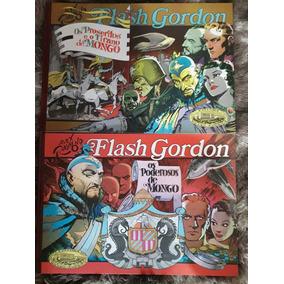 Flash Gordon Capa Dura Coleção Com 8unidades Em Excelente