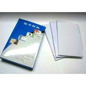 Paquete Hojas 500 Credenciales Pvc Laminación Envío Gratis