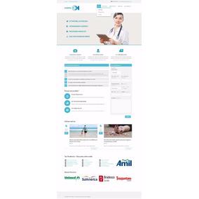 Mega Site Hospital Ou Clínica (responsivo 2018) Gerenciavel