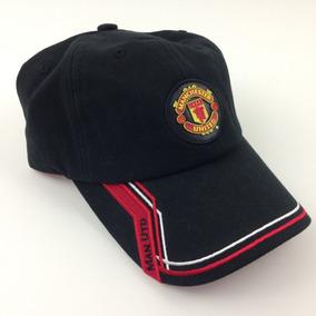 5b0e7152c24bc Sombrero De Béisbol Negro Bordado Del Manchester United Ins