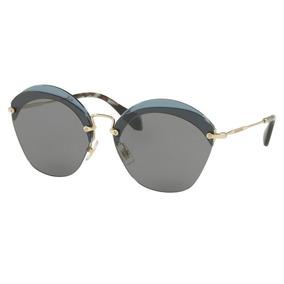 Óculos De Sol Miu Com lente polarizada no Mercado Livre Brasil 638e218c51