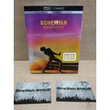 Bohemian Rhapsody Pelicula Bluray 4k Slipcover Stock