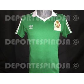 Jersey Mexico Mundial 86 adidas Local  9 Hugo Sanchez 925ca3eefcb76