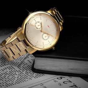 Relógio Technos Masculino Dourado - 6p25bt/4d