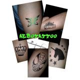 Tatuajes Temporales Unicornio Fortnite Con Aerografo