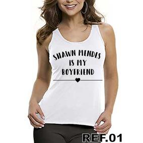 Regata Blusas Feminina Roupa Shawn Mendes Boyfriend Namorado 6f6fd1a36ca
