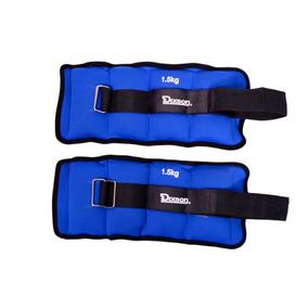 Pesas Tobilleras Par Unisex Dixson Azul/negro 2kg