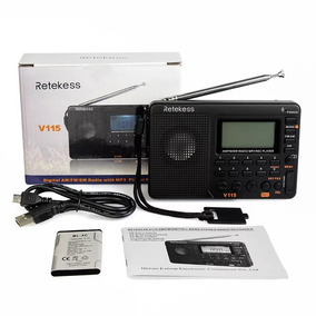 Rádio Am Fm Mp3 Retekess V-115