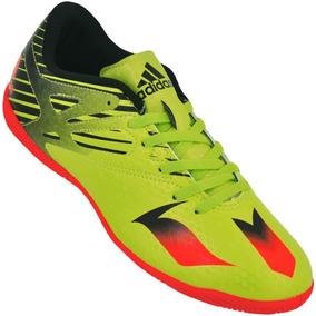 1a7e752b3e Chuteira Adidas Messi 16.1 - Chuteiras Verde limão no Mercado Livre ...